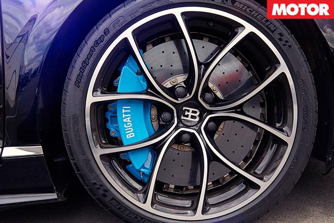 Bugatti chiron wheel