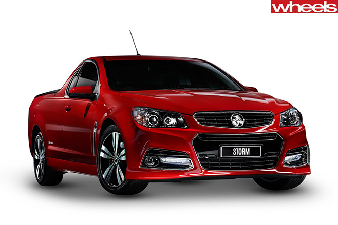 Holden -Commodore -Storm -ute