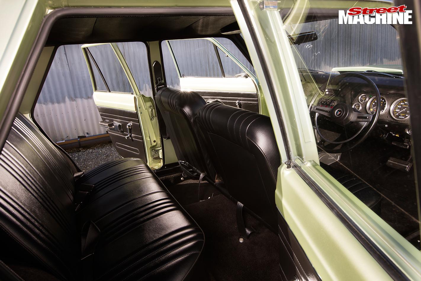 Chrysler -valiant -wagon -interior -rear