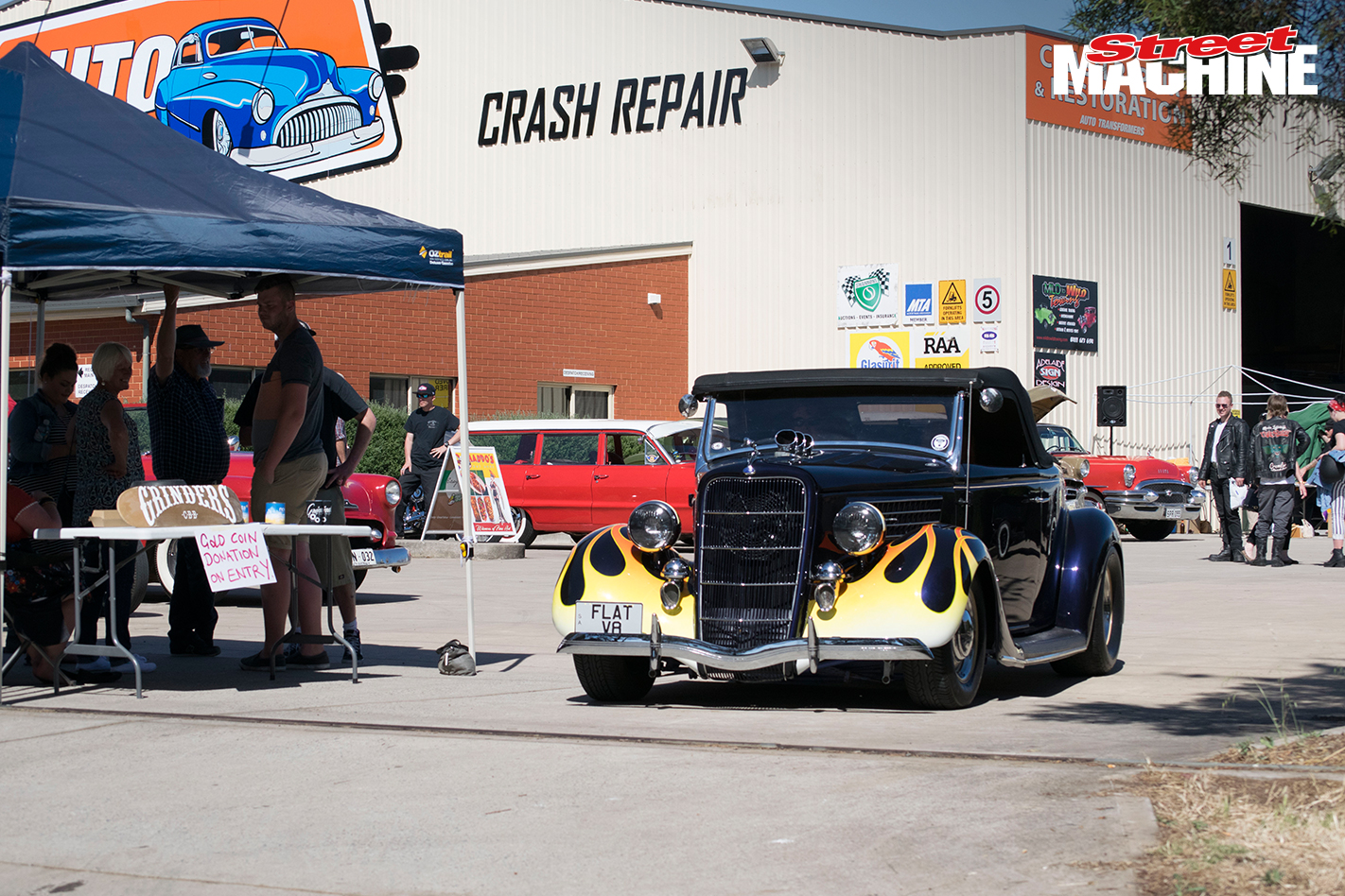 Ford Roadster Hot Rod 8289