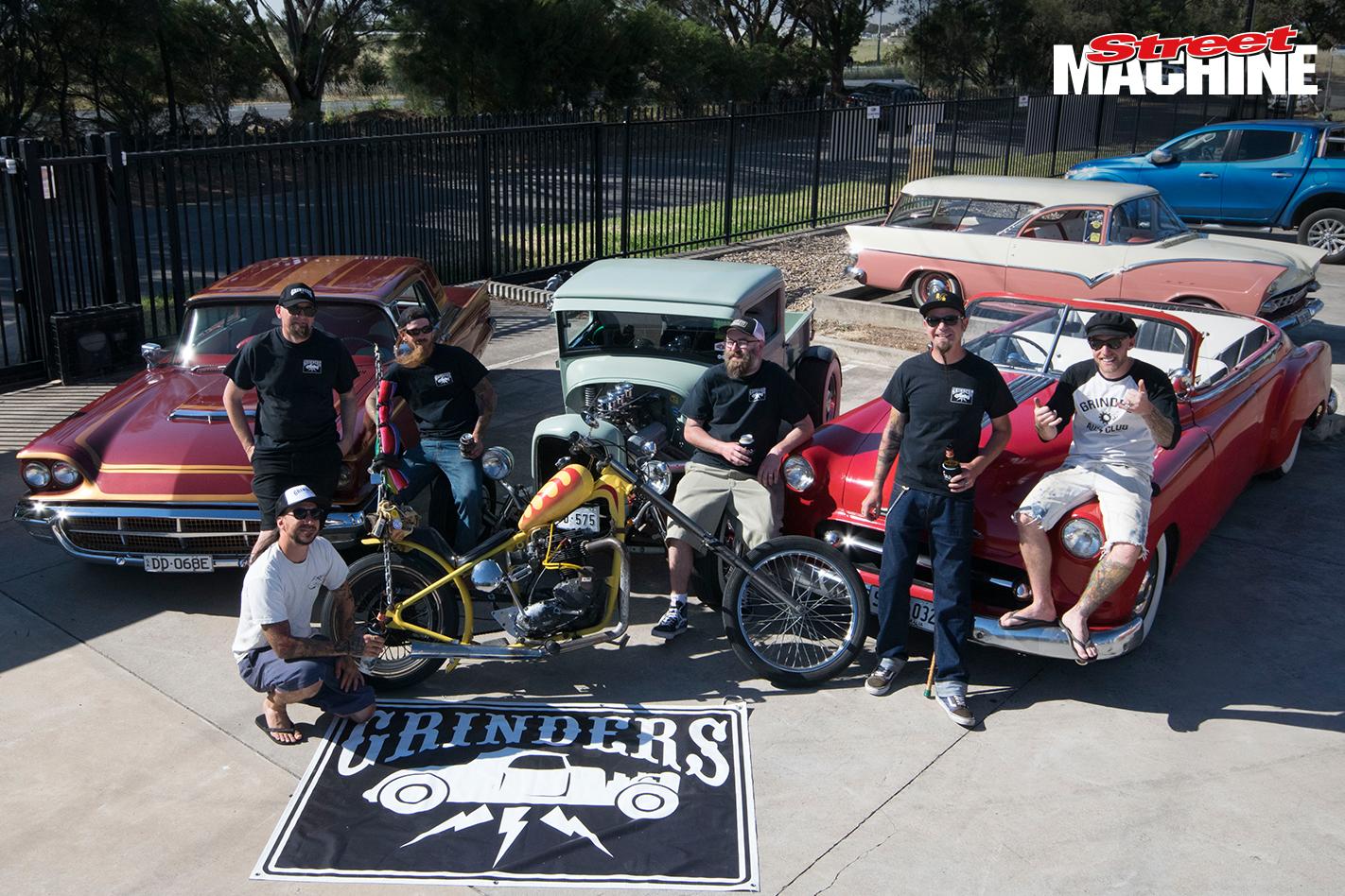 Grinders Car Club Show 8345