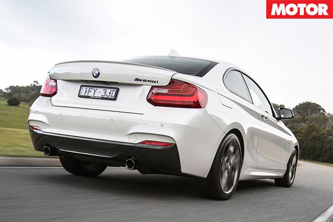2016 BMW M240i rear