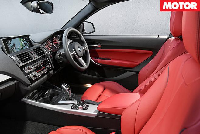 2016 BMW M240i interior