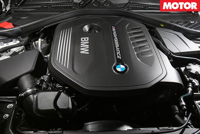 BMW M240i engine