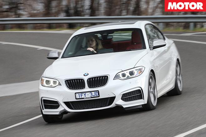 2016-BMW M240i driving