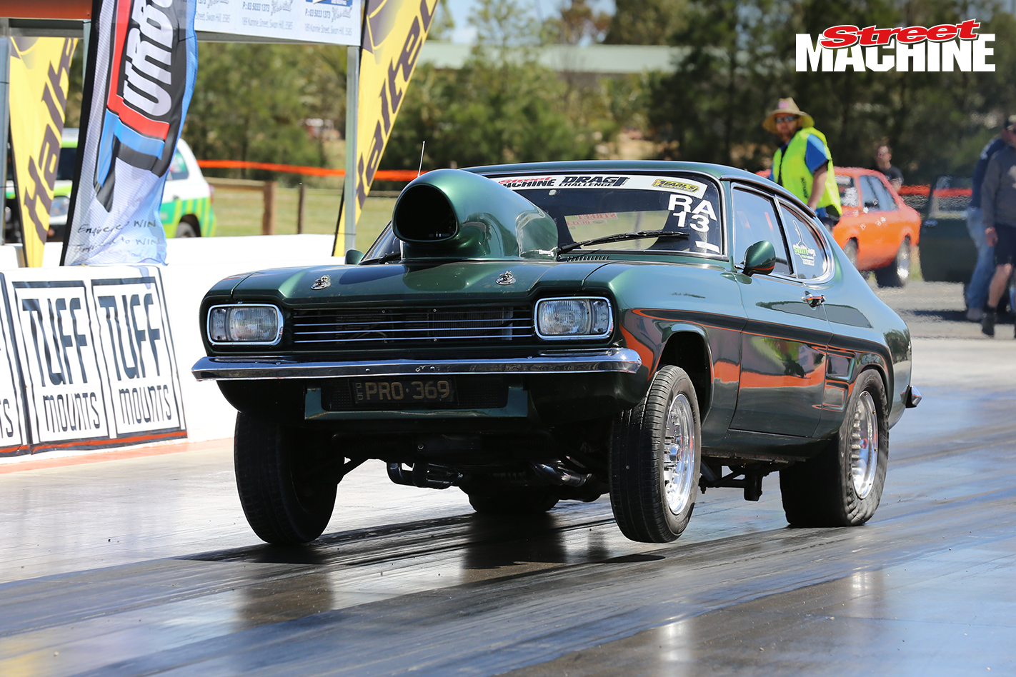 Ford Capri Drag Race 2