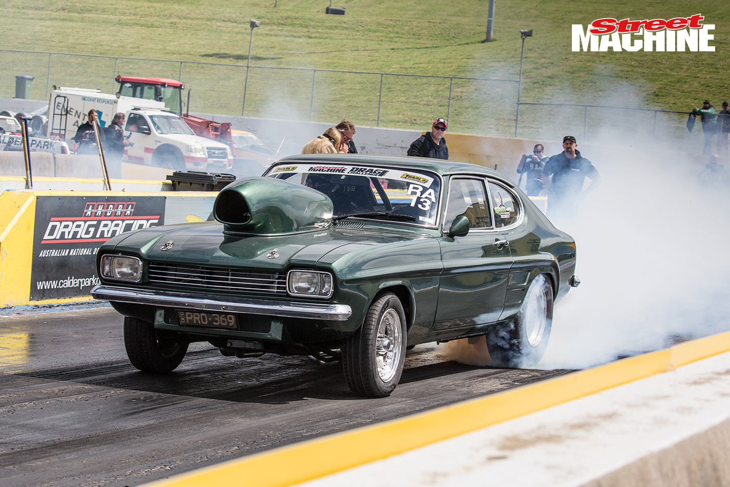 Ford Capri Drag Race 4
