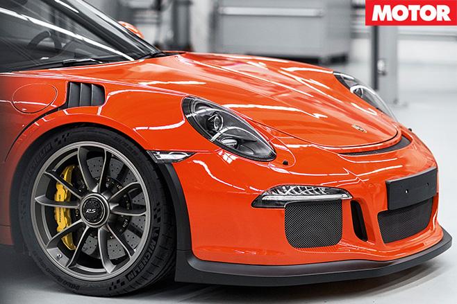 Porsche 911 gt3 rs bonnet