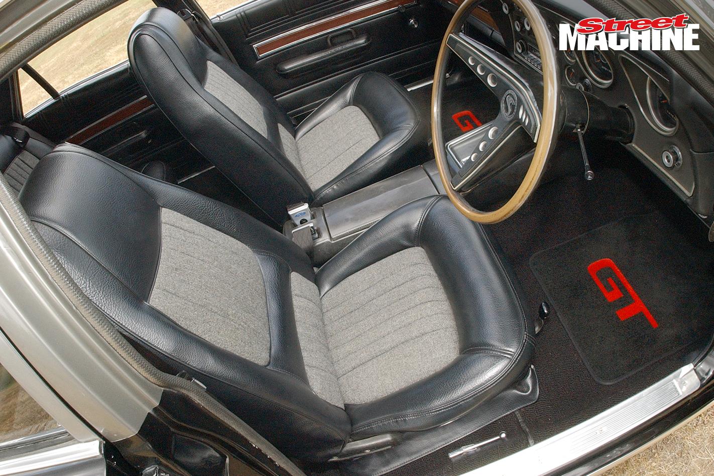 Ford XW Falcon 428 Cobra Jet Interior