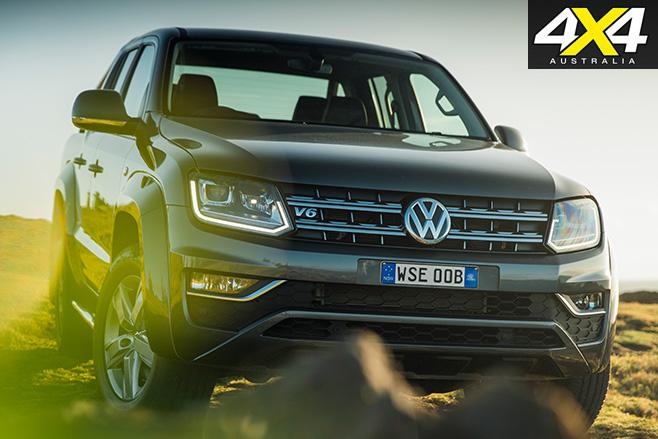 VW Amarok V6 front