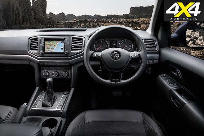 VW Amarok V6 interior