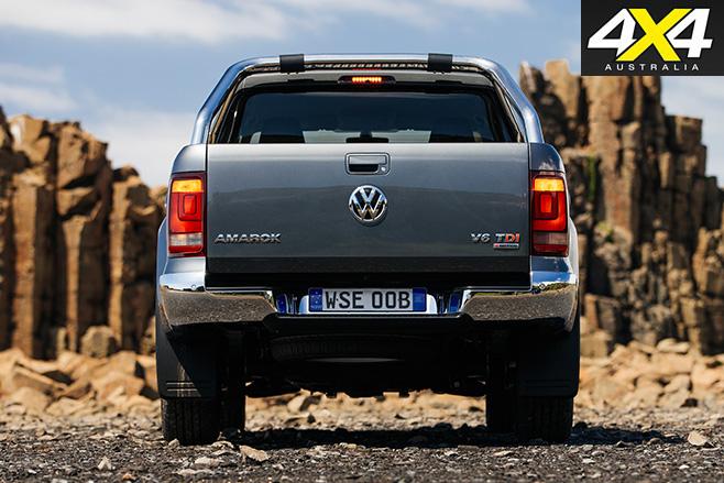VW Amarok V6 boot