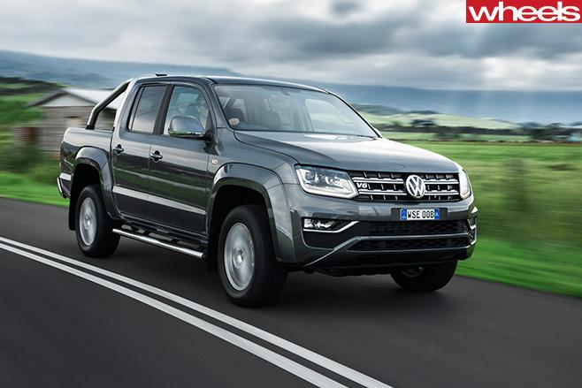 2017-Volkswagen -Amarok -Ultimate -driving -front -side