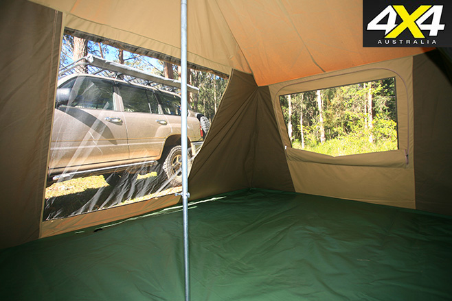 Southern Cross Ultimate Trekker tent inside