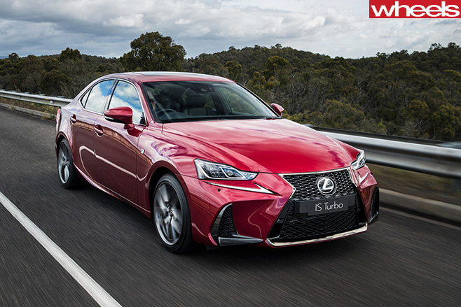 2017-Lexus -IS200t -driving