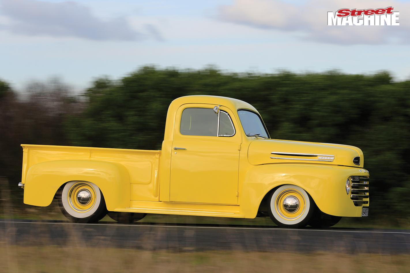 1948 Ford F1 Bonus Pick Up Pickup Truck F 100 Onroad