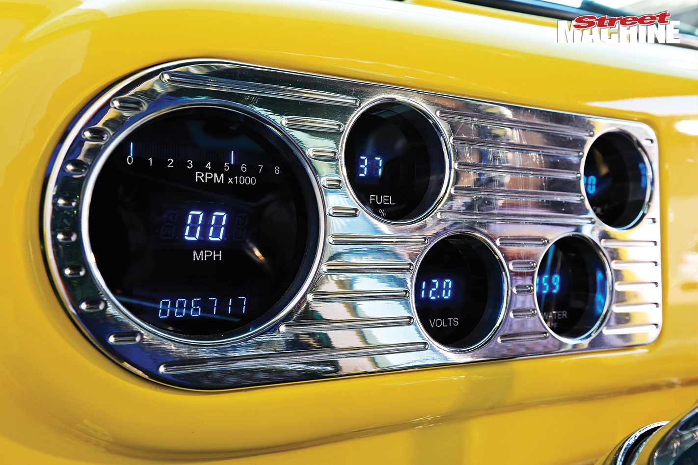 Ford -f 100-gauges