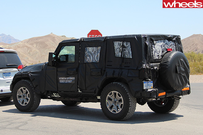 2017 Jeep  Wrangler utility