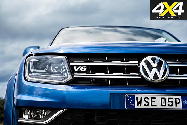 2017 Volkswagen Amarok front