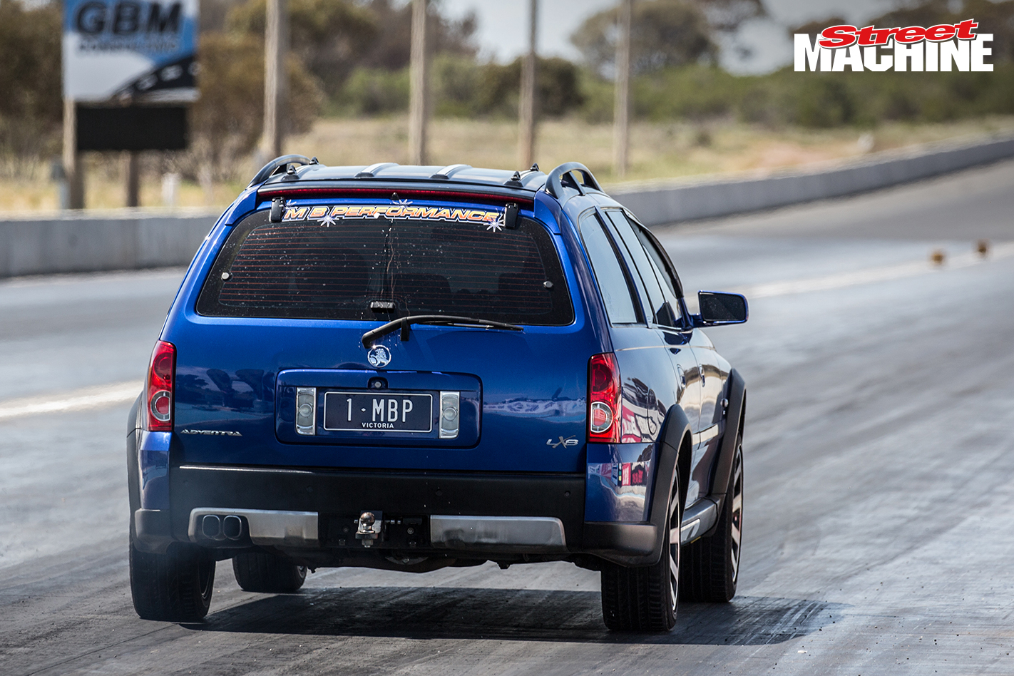 Holden Adventura Wagon Drag Challenge 3
