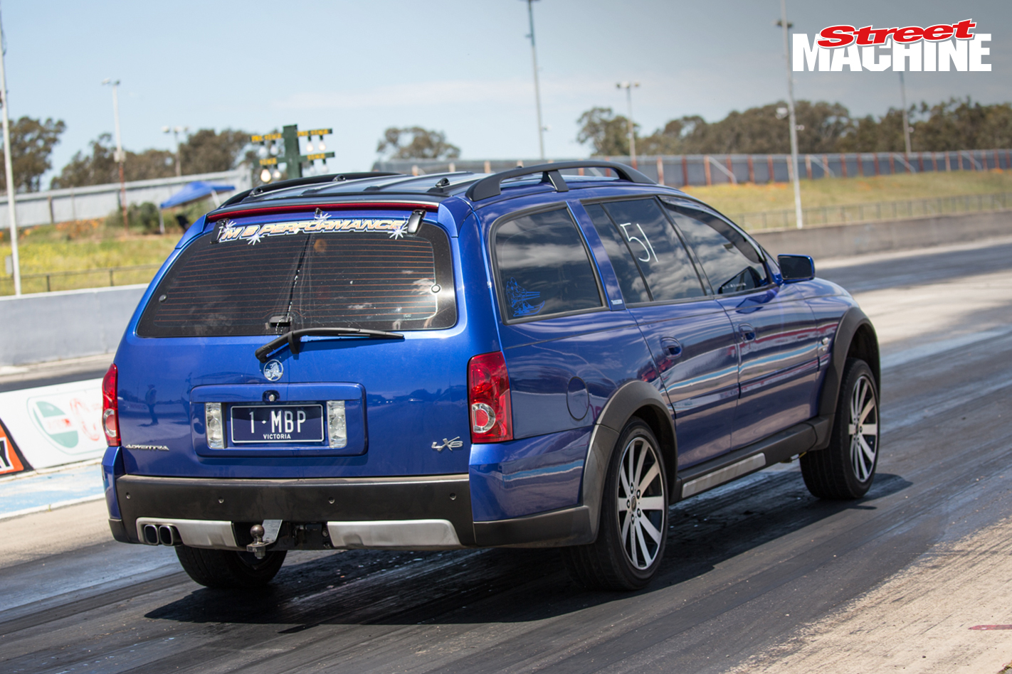 Holden Adventura Wagon Drag Challenge 4