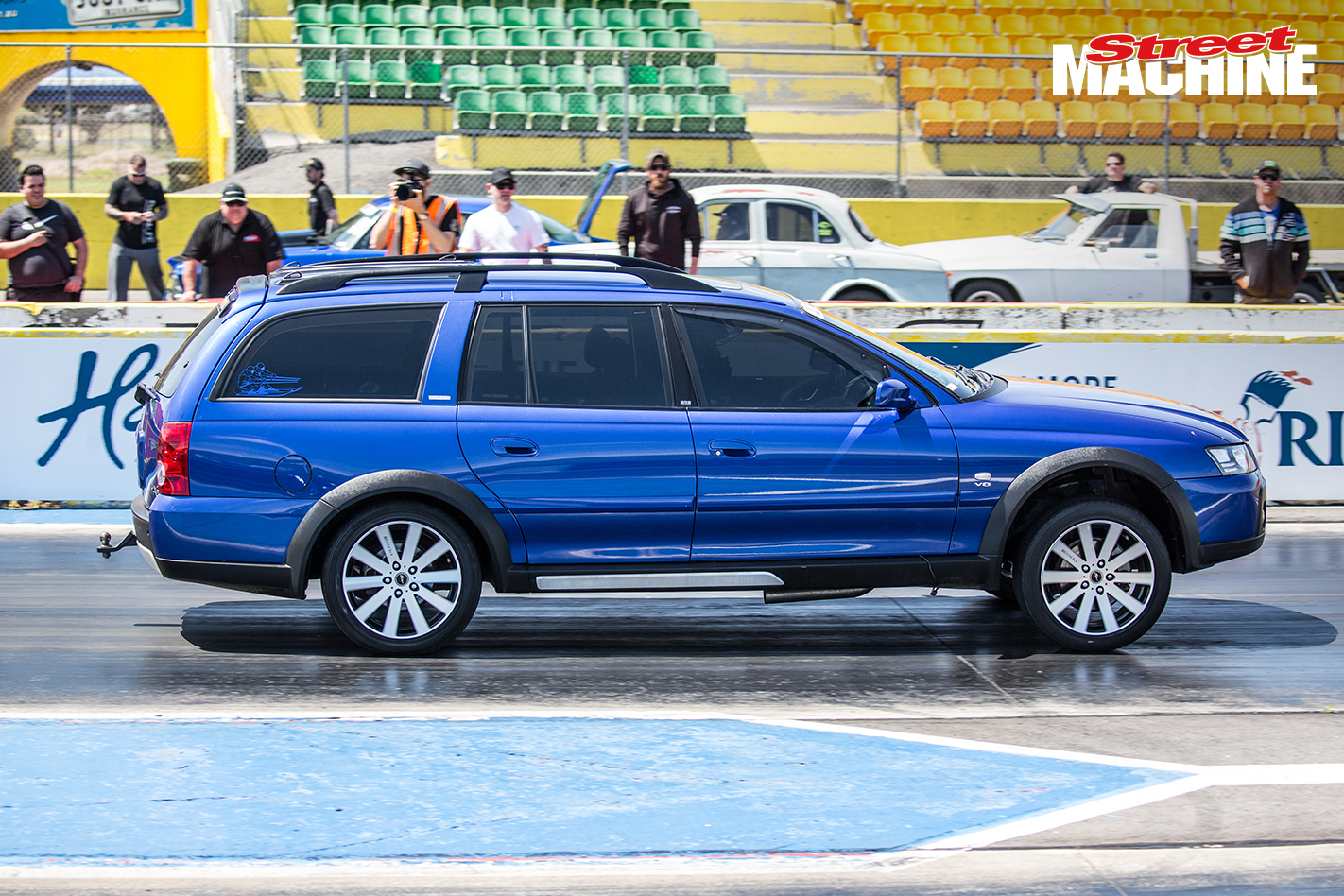 Holden Adventura Wagon Drag Challenge 5