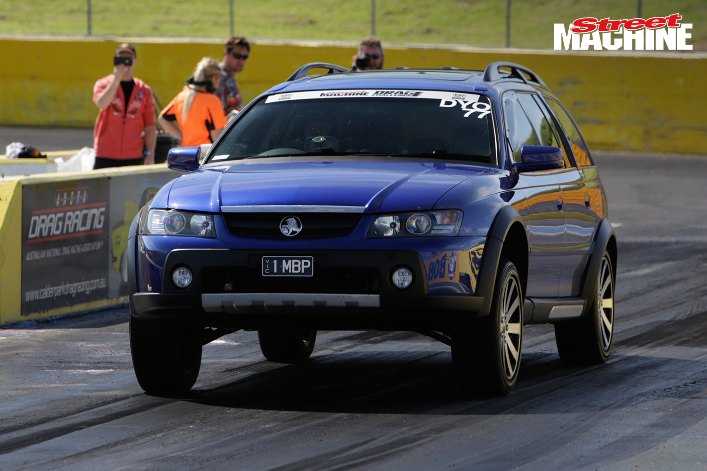 Holden Adventura Wagon Drag Challenge 6