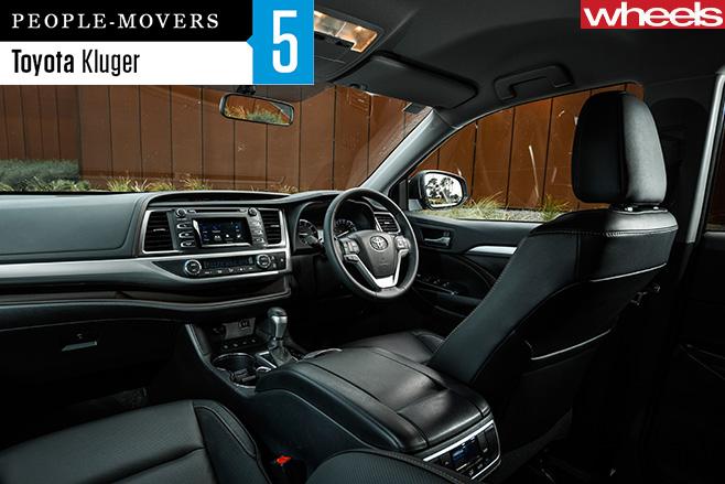 2016-Toyota -Kluger -interior
