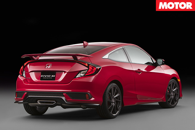 Honda Civic Si rear