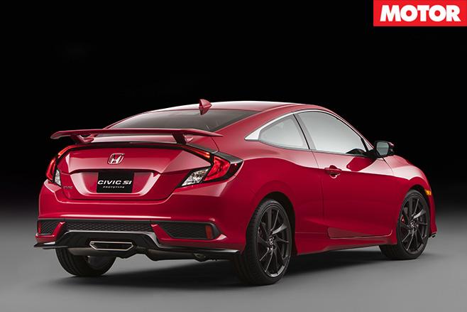 Honda Civic Si rear