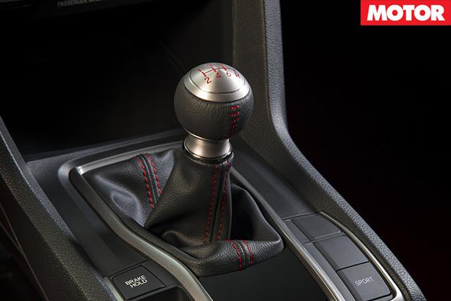 Honda Civic manual gearbox