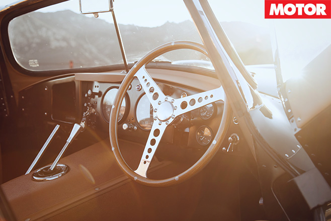 Jaguar offers nine new XKSS interior