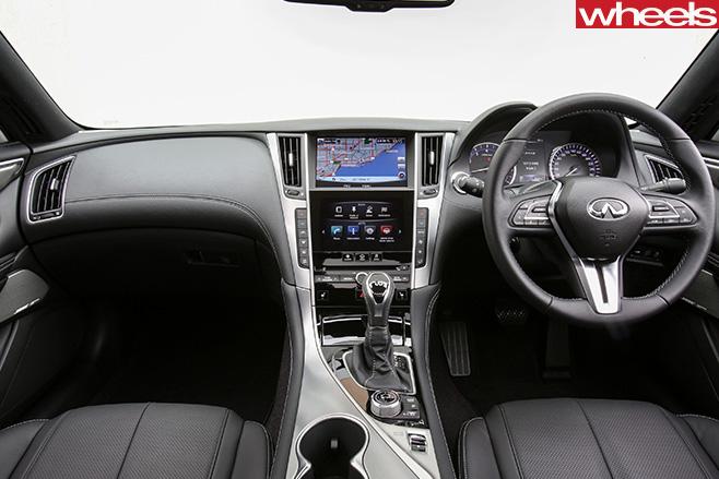 Infiniti -Q60-interior