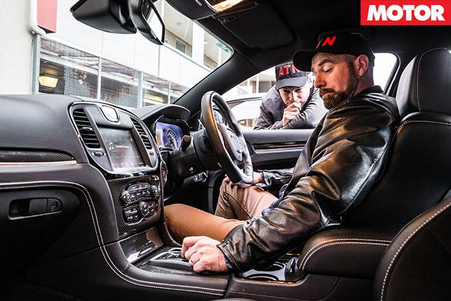 Chrysler 300 SRT interior