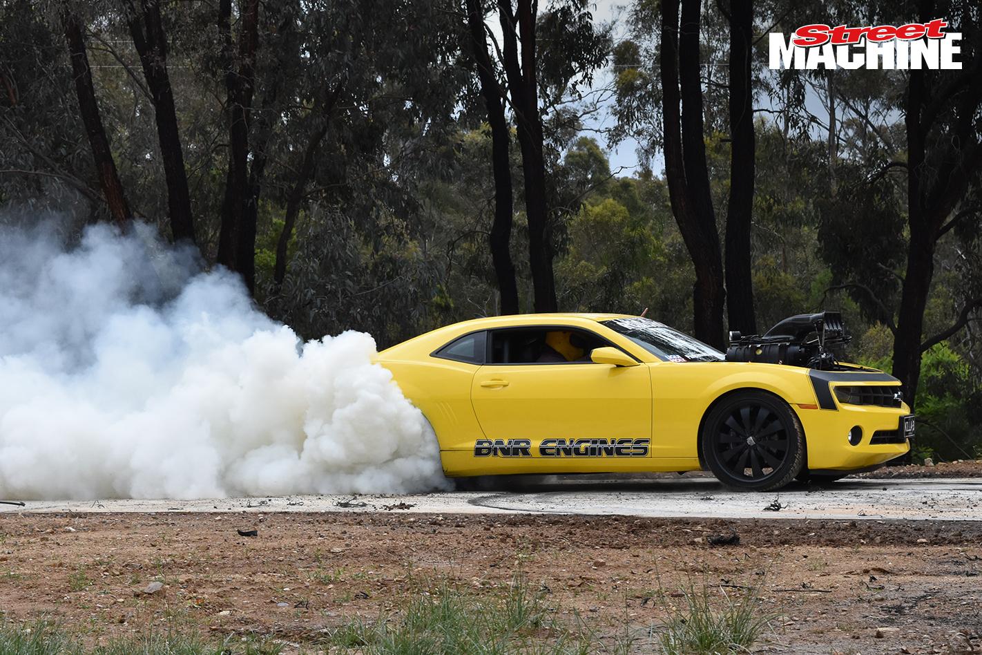 Camaro Blown Burnout 53