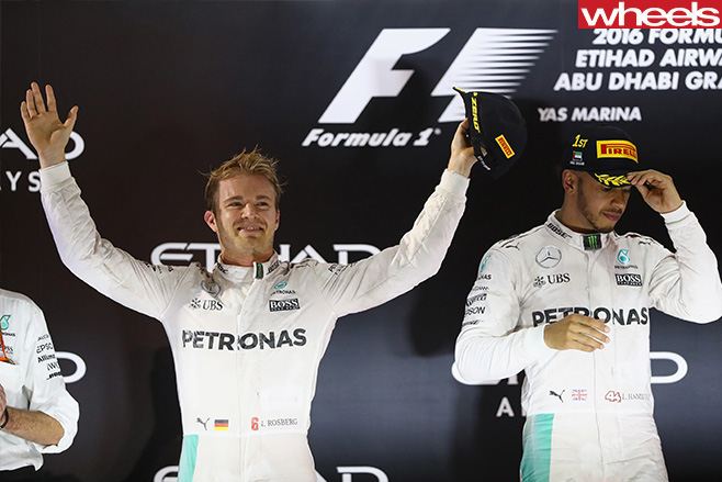 Nico -Rosberg -at -Abu -Dhabi -celebrating -win -on -podium