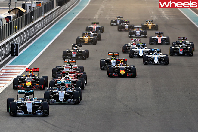 Abu -Dhabi -F1-field -racing