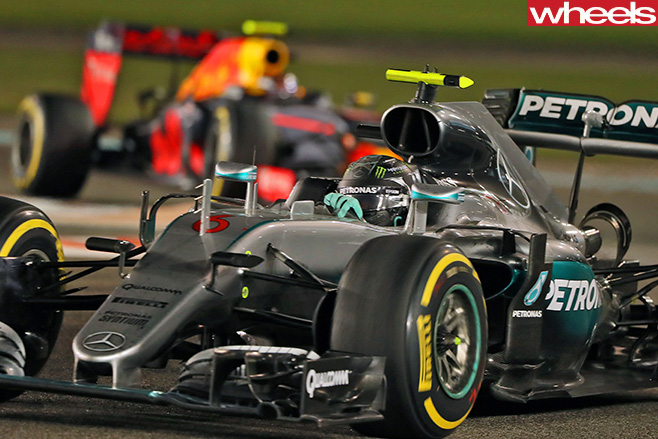 Mercedes -F1-Car -Nico -Rosberg
