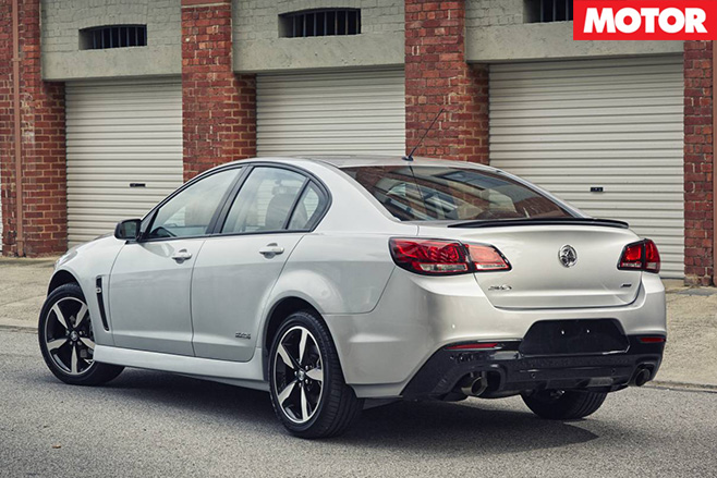 Holden Commodore SV6 rear