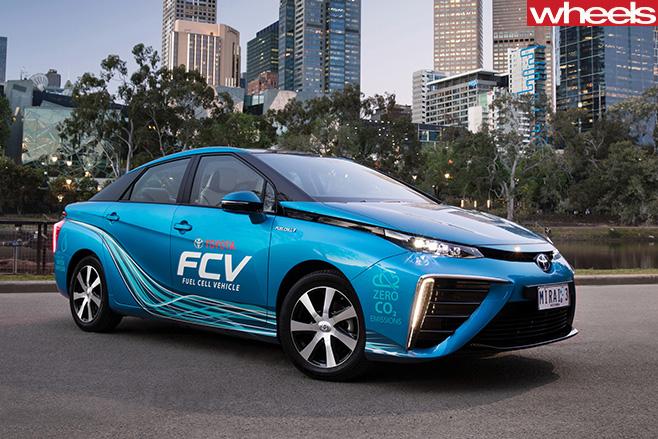 Toyota Mirai Fuel Cell Vehicle