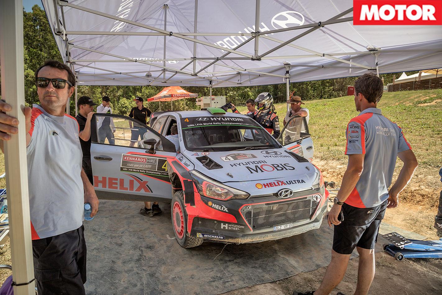 Hyundai i20 WRC Passenger Ride service