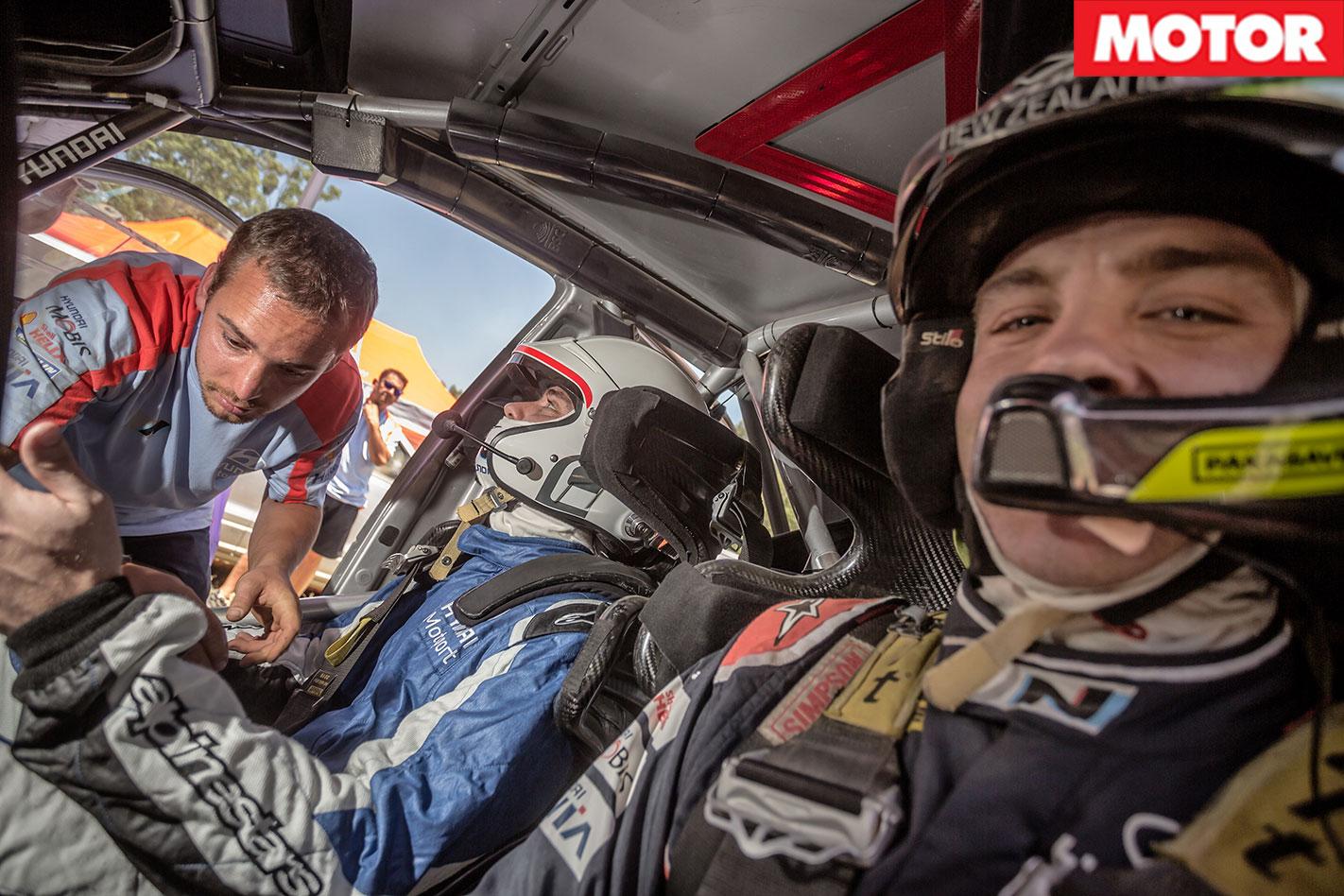 Hyundai i20 WRC Passenger Ride Hayden Paddon