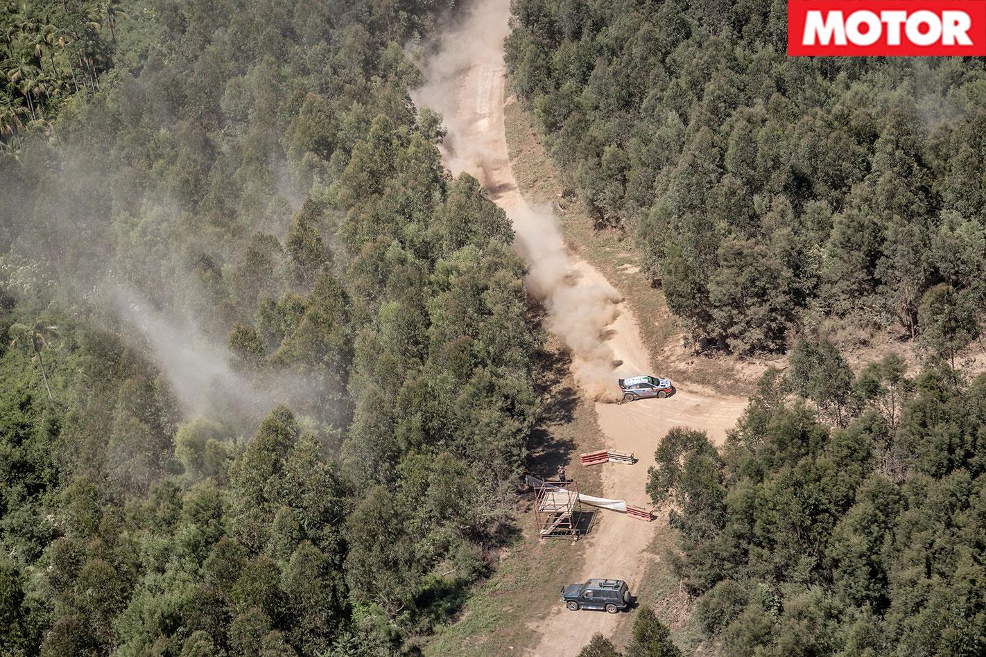 Hyundai i20 WRC Passenger Ride hairpin