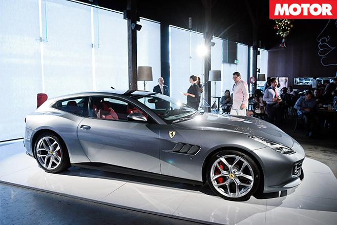 Ferrari GTC4 Lusso T side