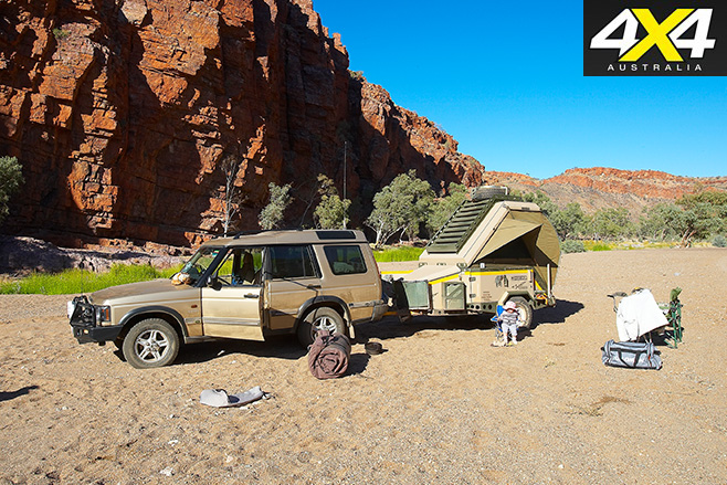 4WD with camper
