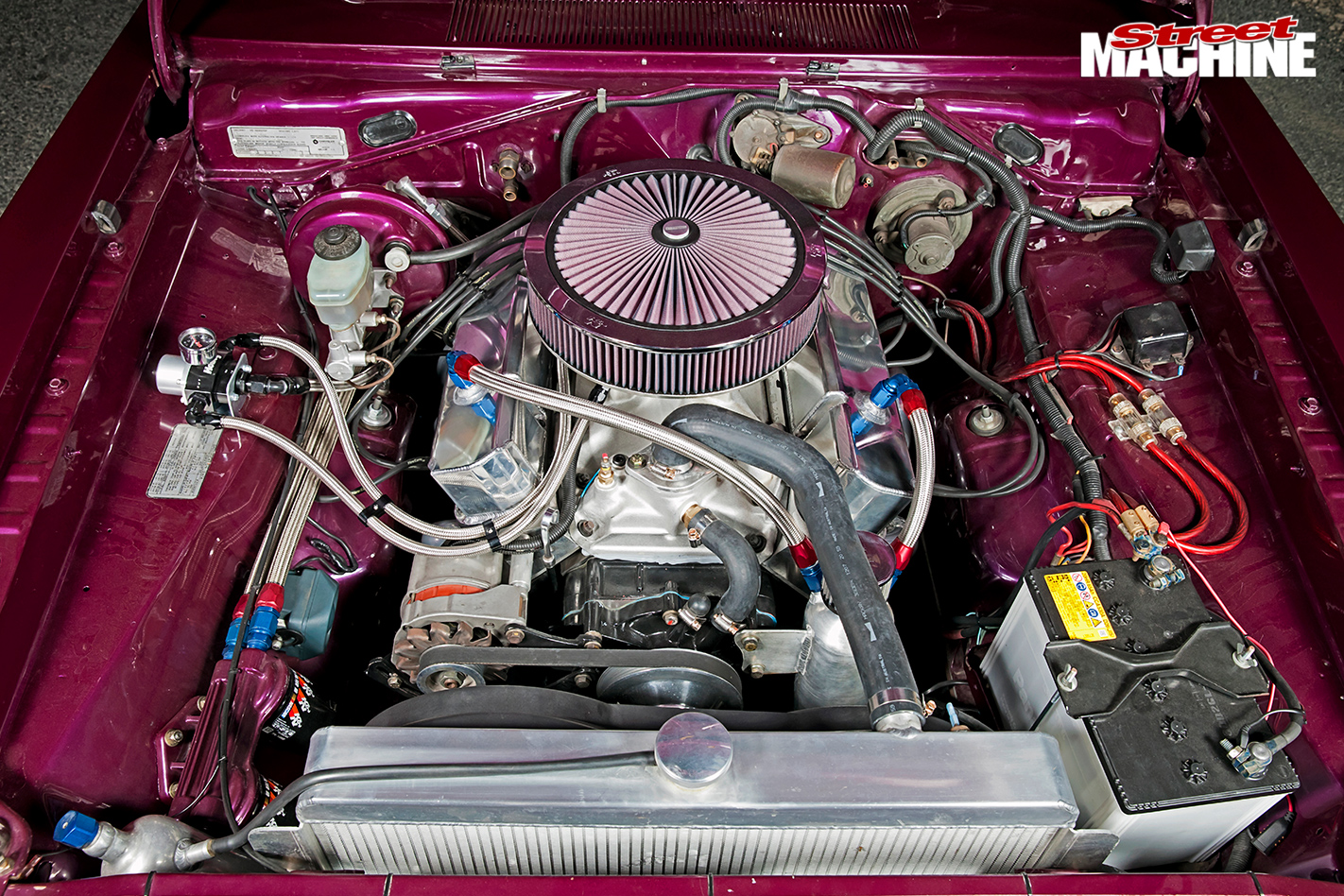 Chrysler -valiant -engine -bay