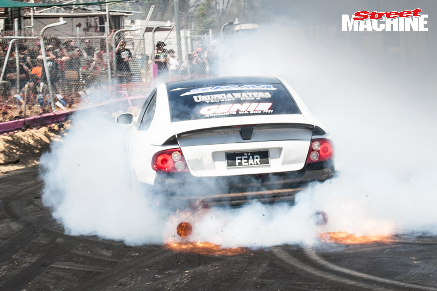 FEAR Monaro Burnout 5708