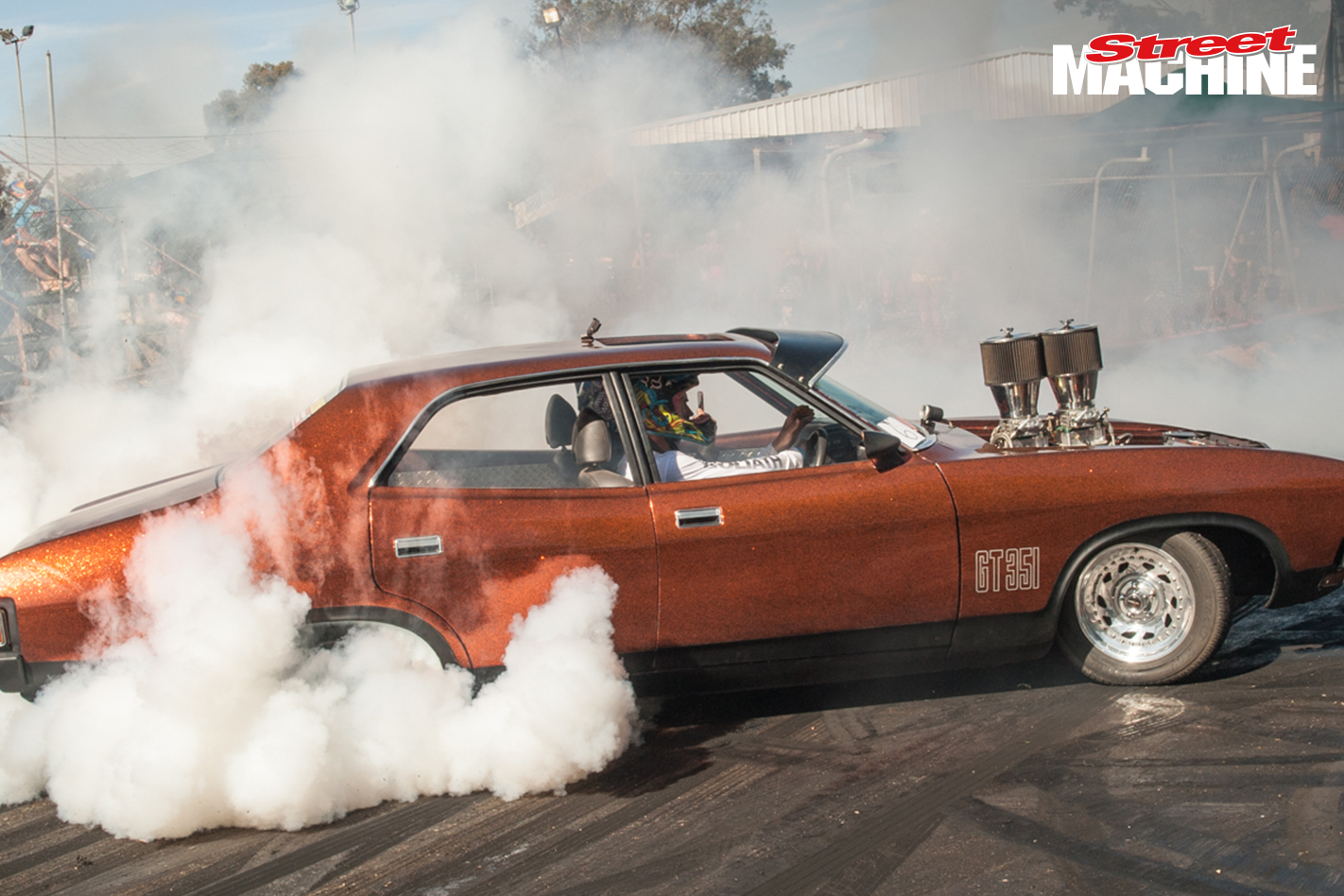 Ford XB Falcon Burnout 5757