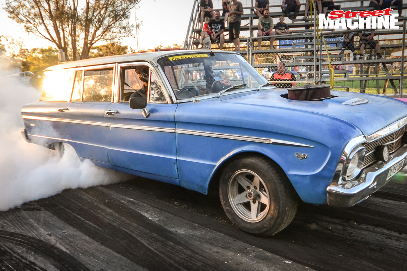 Ford XM Wagon Burnout 8151
