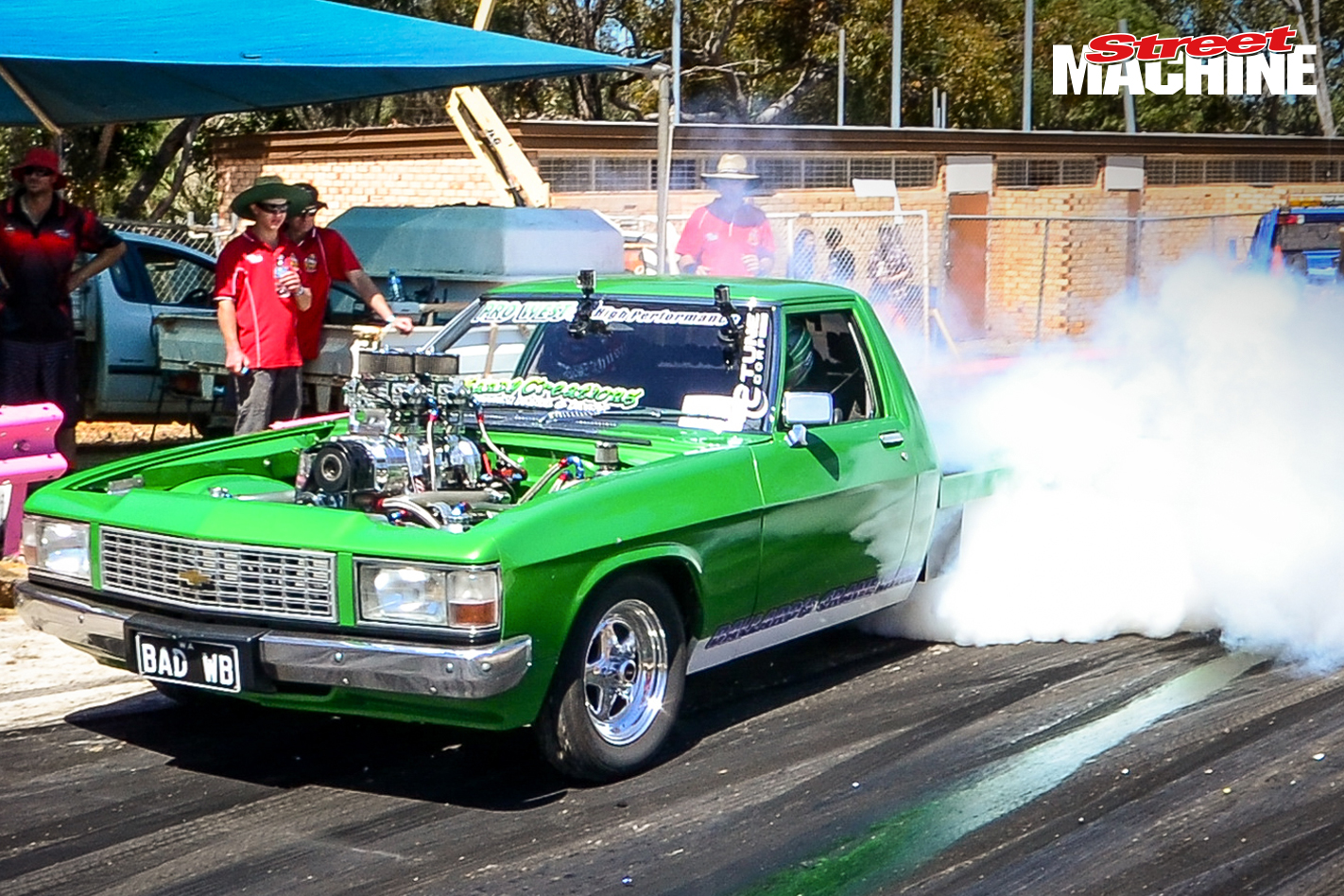 Holden WB BADWB Burnout 8200